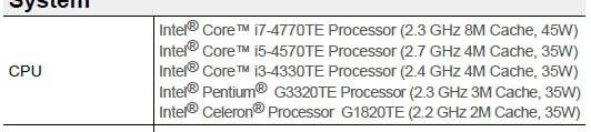 Новые процессоры Intel поколения Haswell