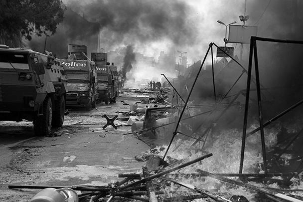 Вчера в Египте умерло 15 полицейских