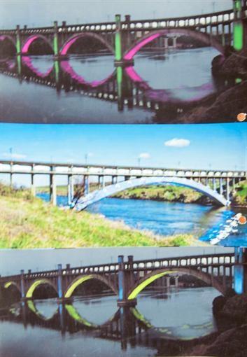 В Запорожье подсветят Преображенский мост