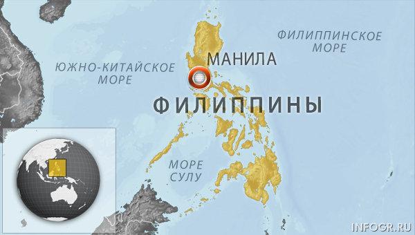 На Филиппинах паром с пассажирами проломило коммерческое судно