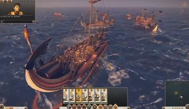 Total War: Rome 2 - морские сражения (ВИДЕО)