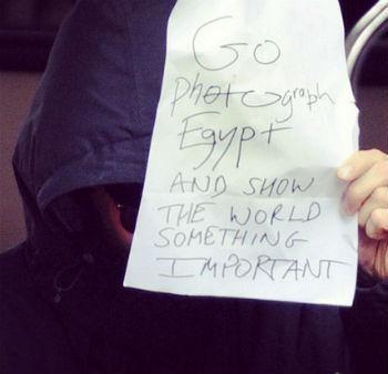 Бенедикт Камбербэтч послал корреспондентов в Египет