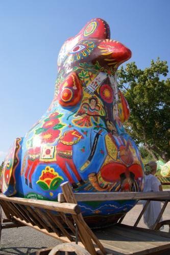В Киев прибыли чудо-птицы
