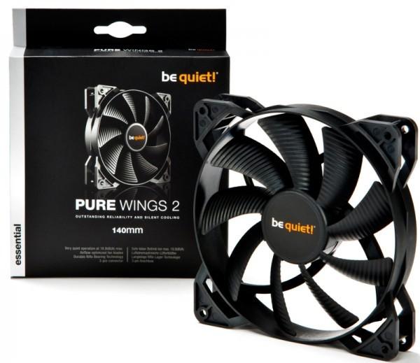 Be quiet! объявила 120-мм и 140-мм вентиляторы