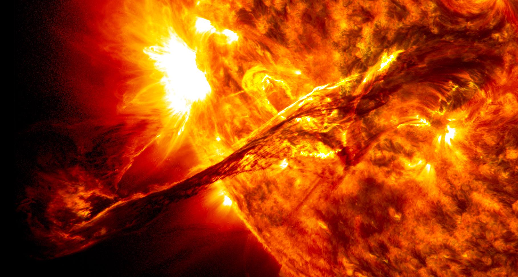 На Солнце случился нацеленный к Земле производительный импульс