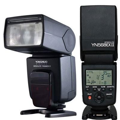 доступна новая выходка Speedlite YN-568EXII для Canon