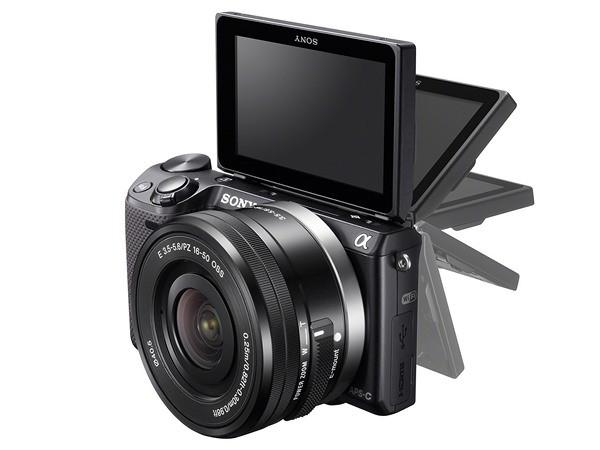 Сони NEX-5T: 16,1 Мп системная камера с Wifi