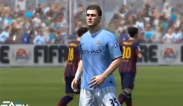 Очень много игрового процесса FIFA 14 с Gamescom (ВИДЕО)