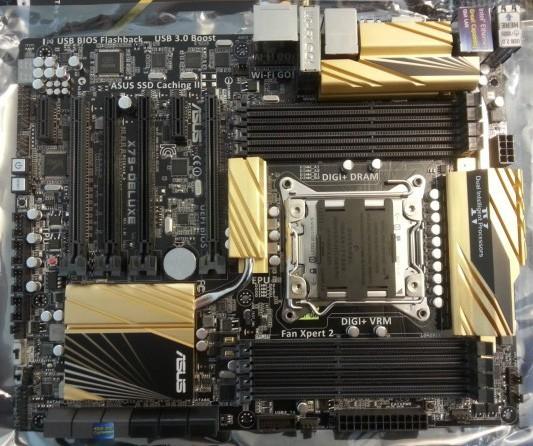 Asus, оплата формата ATX под микропроцессоры Intel Ivy Bridge-E