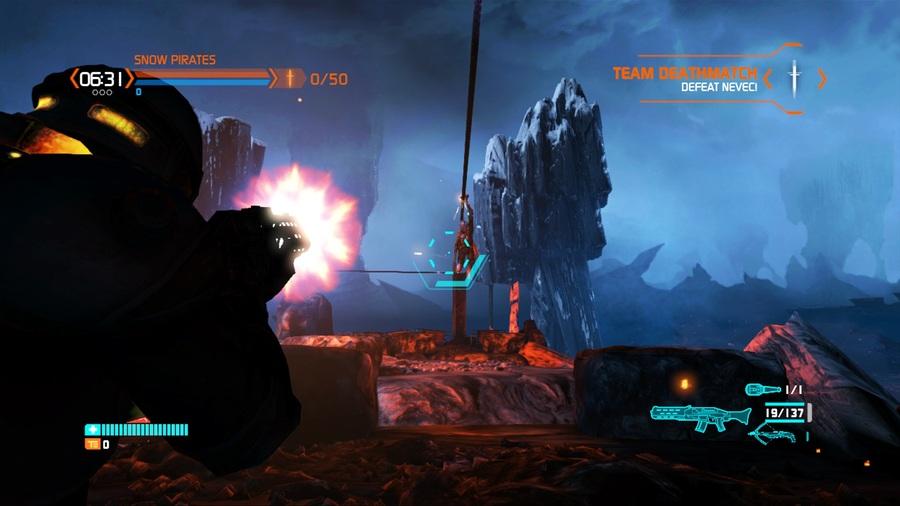 Снимки экрана Lost Planet 3