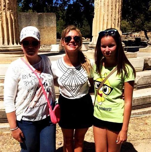 Увлеченные Асмус и Харламов отдыхают в Греции (ФОТО)