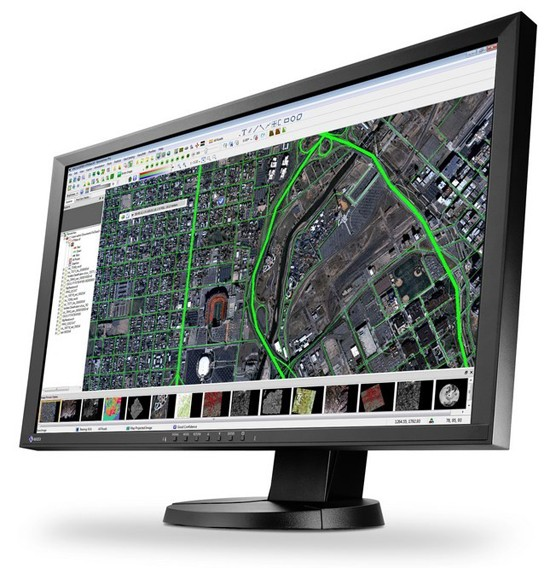 Eizo произвела экран для обучения спутниковых фотоснимков