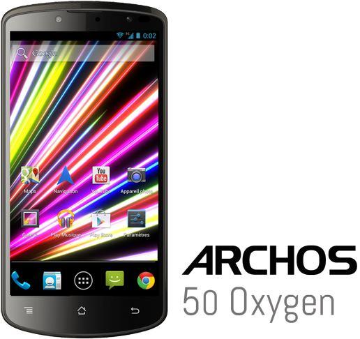 IFA 2013: Телефон Archos 50 Oxygen с камерами на 13 и 5 Мп