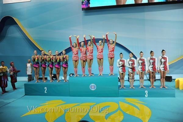 Украина заняла II место на ЧМ по образной гимнастике