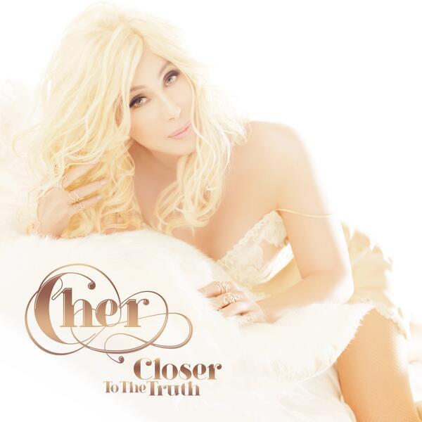Шер продемонстрировала свежий альбом в виде блондиночки