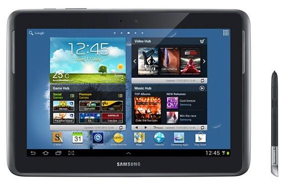 «Самсунг» начала реализации планшетника Галакси Note 10.1 LTE