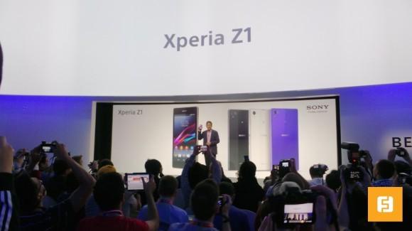 IFA 2013: Сони продемонстрировала телефон Xperia Z1