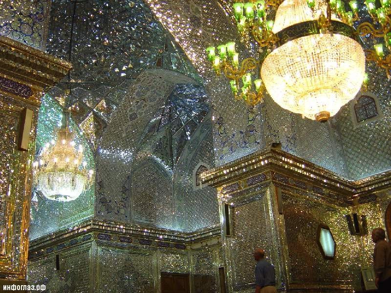 Мазар, в который движутся мусульмане-шииты из всех стран мира ФОТО