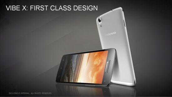 Lenovo Vibe X и Lenovo S5000: новые смартфон и планшет