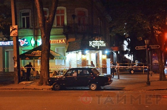 В Одессе поранить двоих гостей кафе