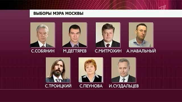 К концу дня явка на отборах градоначальника Города Москва составила 20%