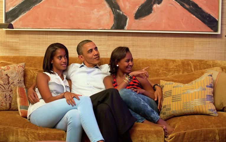 Обаме грозят похищением дочери в случае потрясения по Сирии