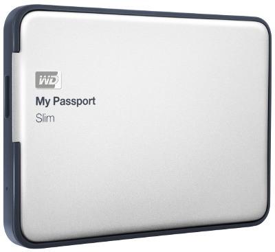 Переносные накопители My Passport Slim  доступны