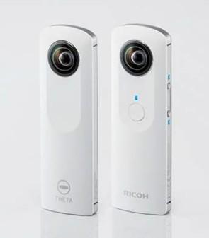 Камера Ricoh Theta для образования круглых панорам