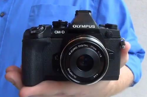 Беззеркальная камера Olympus OM-D E-M1 со вставной оптикой