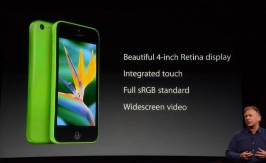 Сегодня Эпл представила свежий экономный  Айфон  5С