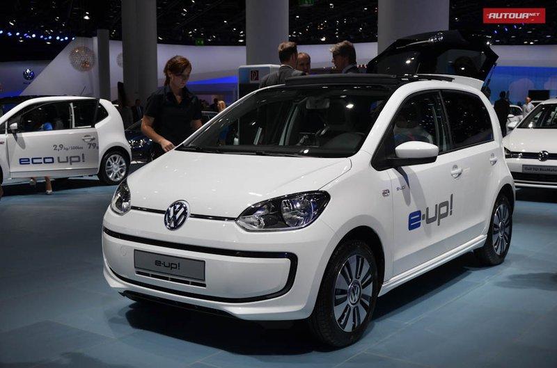 Фольксваген продемонстрировал во Франкфурте 3 электромобиля