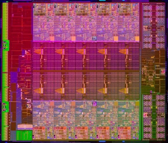 Intel продемонстрировала серверные микропроцессоры Xeon E5-2600 v2