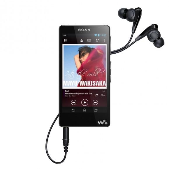 Аудиоплеер Сони Walkman F886 на Андроид 4.1