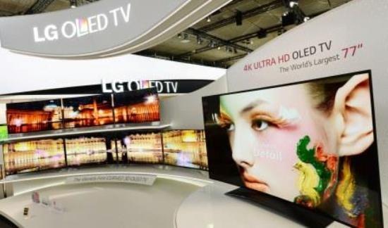 Представлен крупнейший во всем мире OLED-телевизор