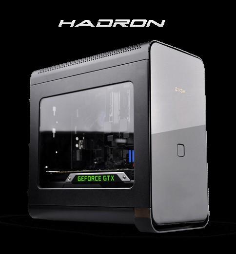EVGA Hadron Эйр: чёрный малогабаритный каркас