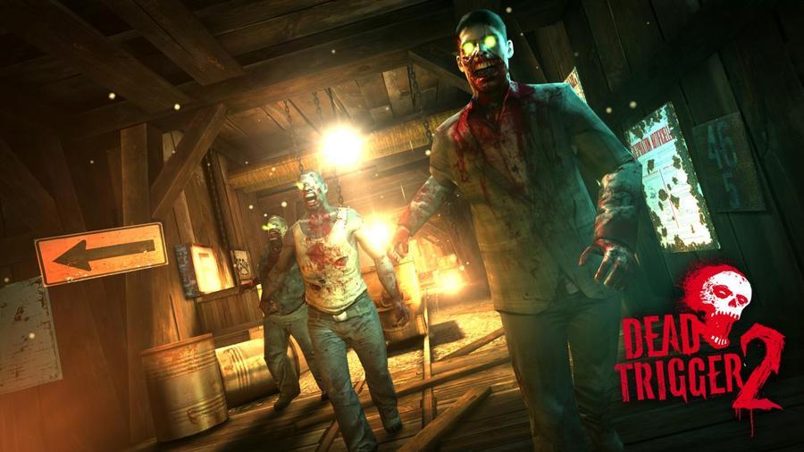 Компоненты и снимки экрана Dead Trigger 2