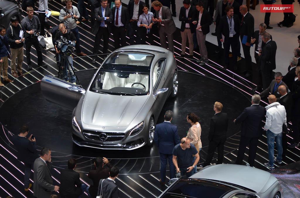 Мерседес S-Coupe представлен официально (ВИДЕО)