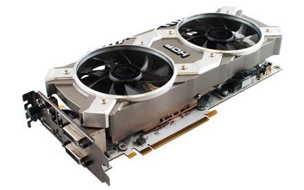 Оверклокерская диаграмма KFA2 GeForce GTX 780 HOF