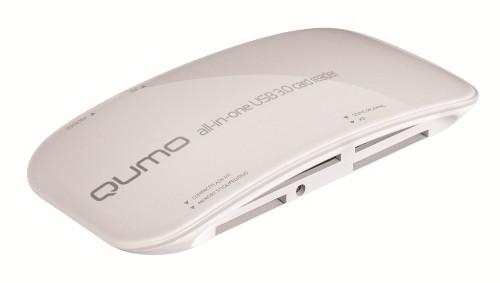Qumo произвела свежие кардридер и USB-хаб