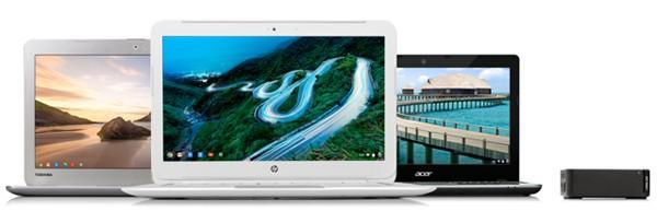 "Google продемонстрировала ""хромбуки"" на основе Intel Haswell"