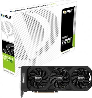 Palit продемонстрировала рассеянный адаптер GeForce GTX 770 OC