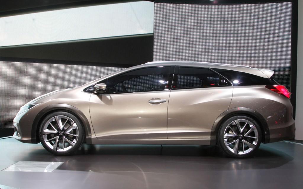Хонда привезла во Франкфурт универсал Хонда Цивик Тюнер