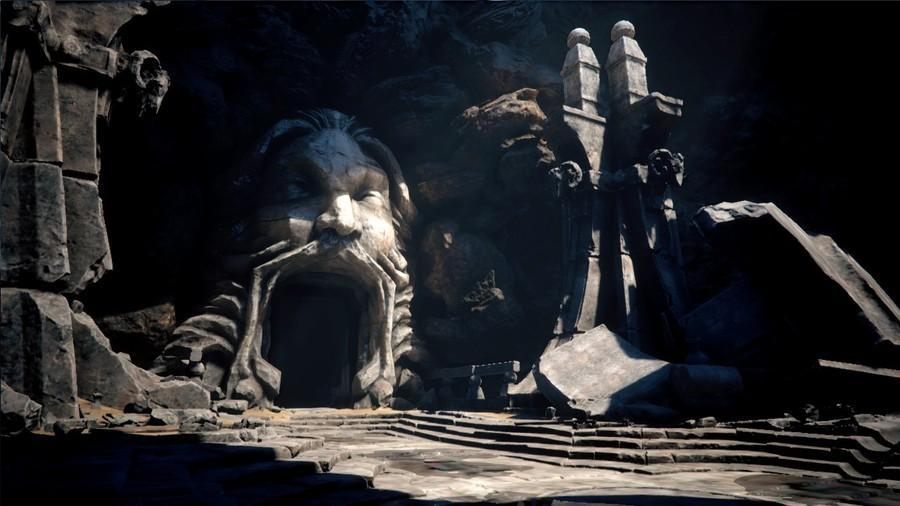 Снимки экрана игры Deep Down