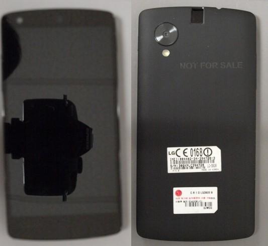 Google Nexus 5: свежее фото телефона