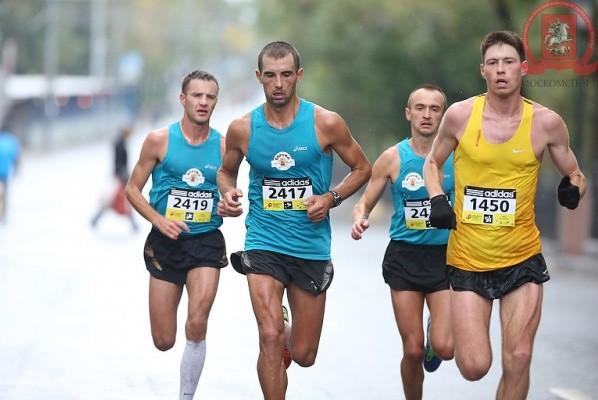Украинцы заняли все наградные места на Столичном марафоне