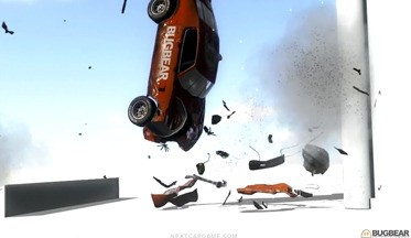 Bugbear Некст Car Game - модель поражения автомашин (ВИДЕО)