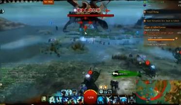 Guild Wars 2 - схватка с начальником Tequatl (ВИДЕО)