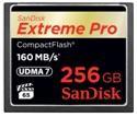 Карта SanDisk Extreme Pro CompactFlash на 256 Гигабайт