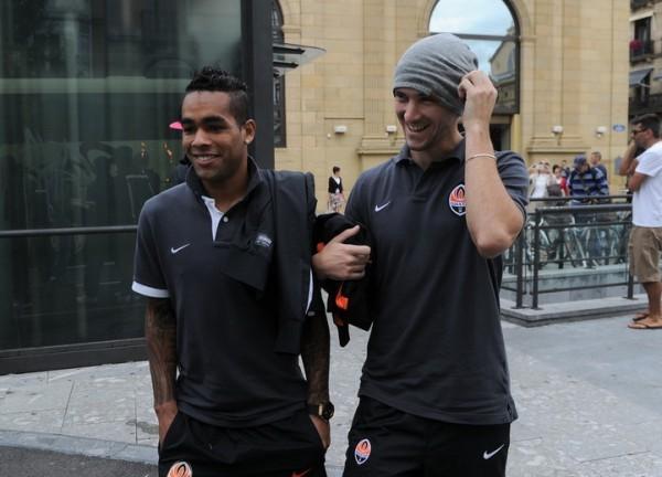 Дарио Срна перед матчем ответил на вопросы корреспондентов