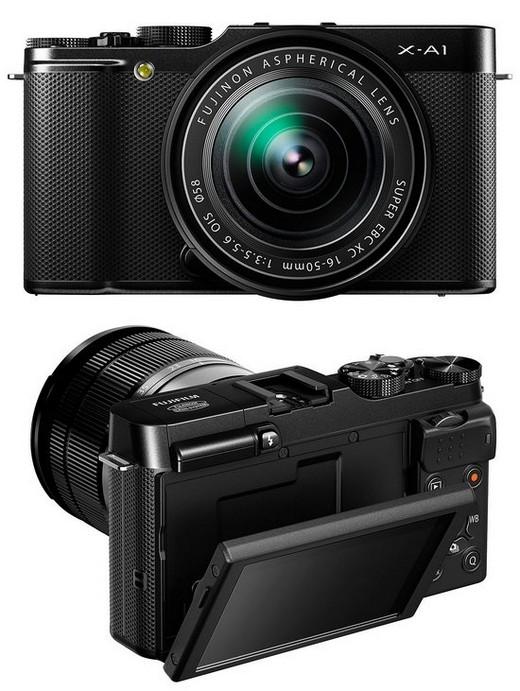 Fujifilm продемонстрировала дешевую беззеркальную камеру с Wifi